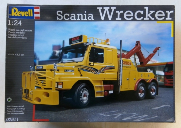 07511 SCANIA WRECKER  UK SALE ONLY