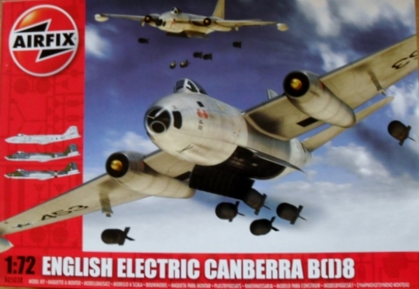 05038 ENGLISH ELECTRIC CANBERRA B I 8