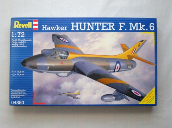 04350 HAWKER HUNTER F. Mk.6