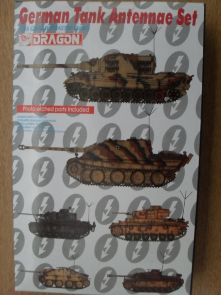 3819 GERMAN TANK ANTENNAE SET