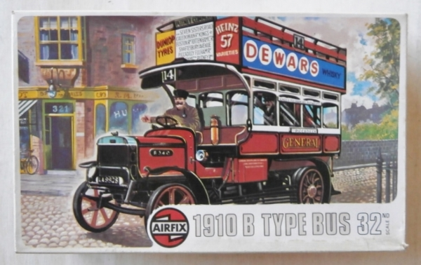 05443 1910 B TYPE BUS OR 1914 OLD BILL BUS