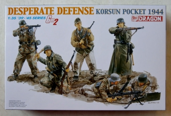 6273 DESPERATE DEFENSE KORSUN POCKET 1944