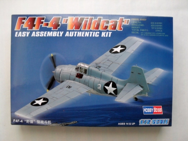 80220 F4F-4 WILDCAT EASY ASSEMBLY