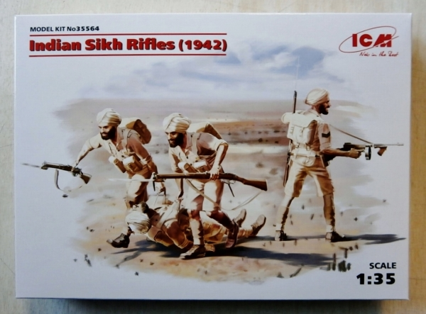 35564 INDIAN SIKH RIFLES 1942