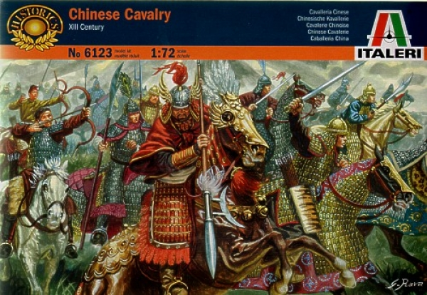 6123 CHINESE CAVALRY XIII CENTURY