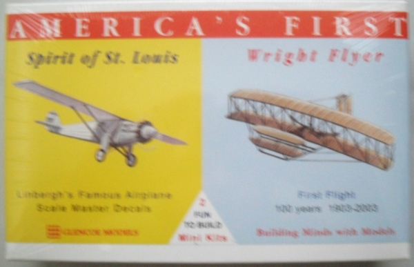 03102 ODD SCALE SPIRIT OF ST.LOUIS/ WRIGHT FLYER