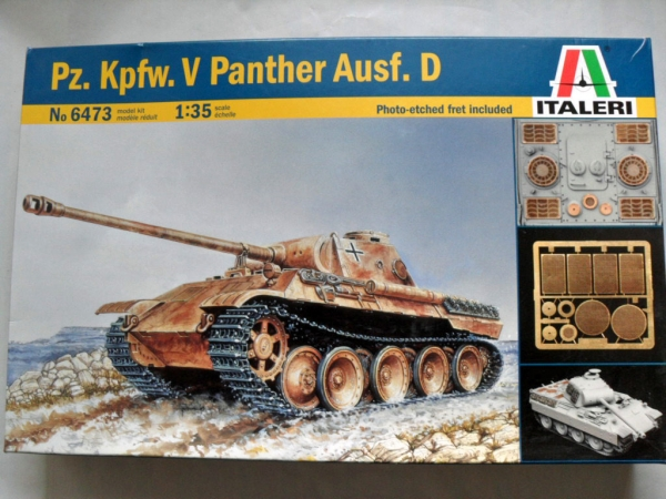 6473 Pz.Kpfw V PANTHER Ausf.D WITH ETCH