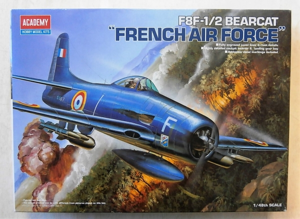 12201 F8F-1/2 BEARCAT FRENCH AIR FORCE