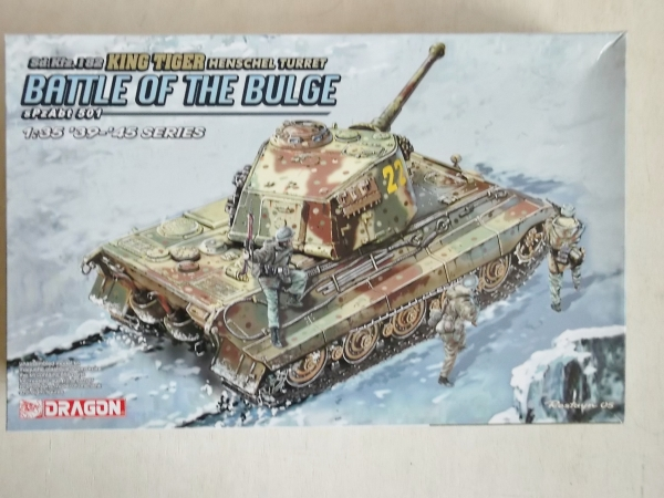 6254 KING TIGER HENSCHEL TURRET BATTLE OF THE BULGE