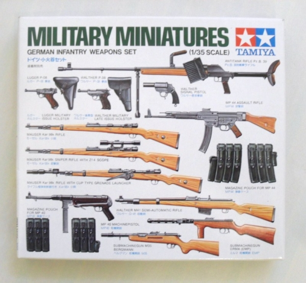 35111 GERMAN INFANTRY WEAPONS