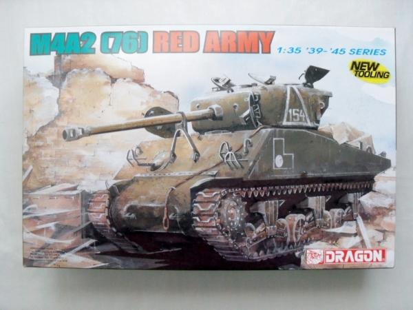 6188 M4A2 76  SHERMAN RED ARMY