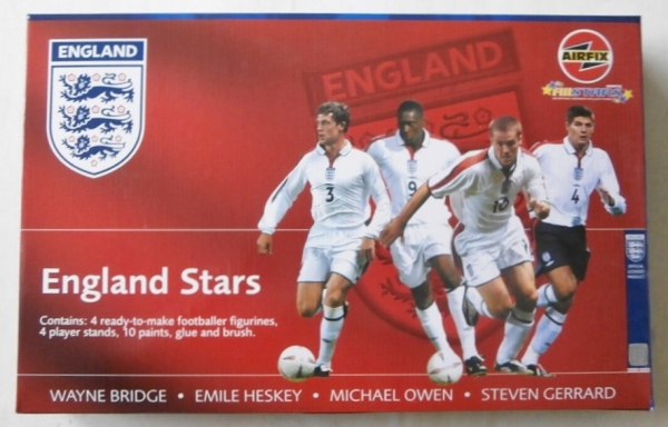 F1001 ENGLAND STARS SET 2 BRIDGE HESKEY OWEN GERRARD