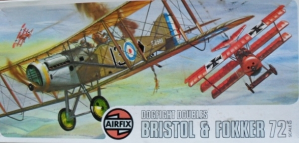 02141 BRISTOL FIGHTER/FOKKER Dr.I