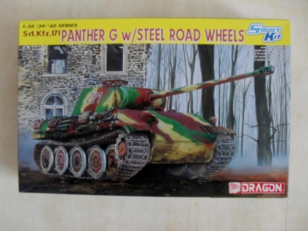 6370 Sd.Kfz.171 PANTHER G WITH STEEL ROAD WHEELS