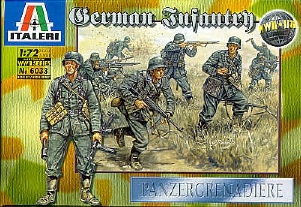 6033 WWII GERMAN INFANTRY
