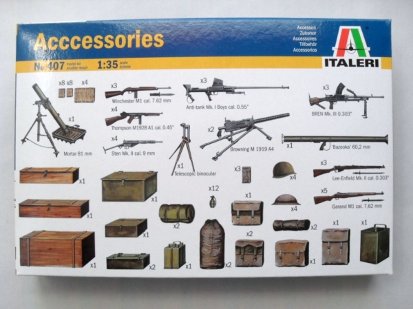 407 ACCESSORIES  WEAPONS