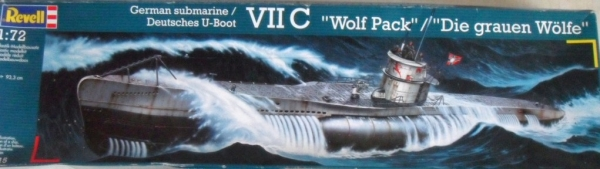 05015 TYPE VIIC U-BOAT WOLF PACK  UK SALE ONLY