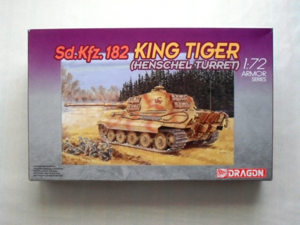7246 KING TIGER HENSCHEL TURRET