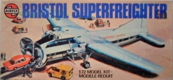 05002 BRISTOL SUPERFREIGHTER  BRITISH UNITED