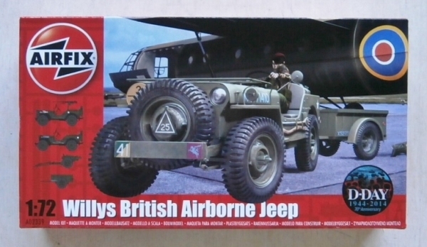 02339 WILLYS BRITISH AIRBORNE JEEP