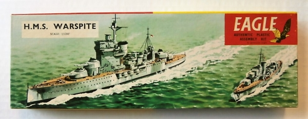 EAGLEWALL 1/1200 HMS WARSPITE Model Kit