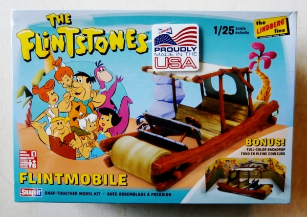 604 THE FLINTSTONES FLINTMOBILE