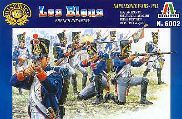 6002 NAPOLEONIC FRENCH LINE INFANTRY