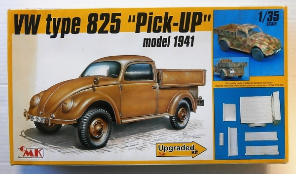 T35025 VW TYPE 825 PICK UP MODEL 1941