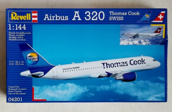 04201 AIRBUS A 320 THOMAS COOK SWISS