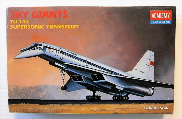 1699 Tu-144 SUPERSONIC TRANSPORT 1/360