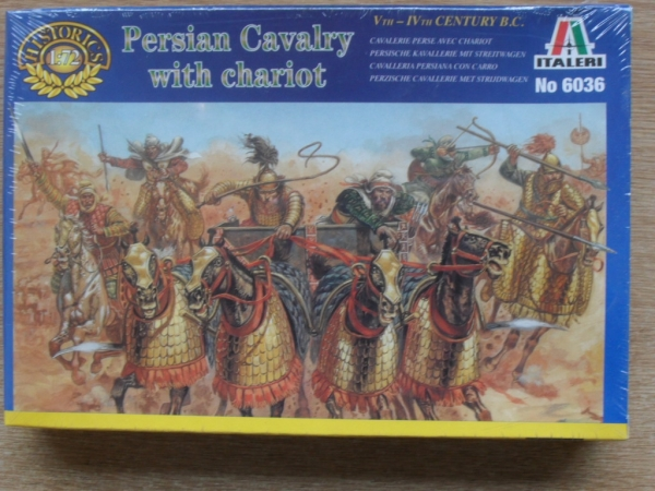 6036 PERSIAN CAVALRY WITH CHARIOTS