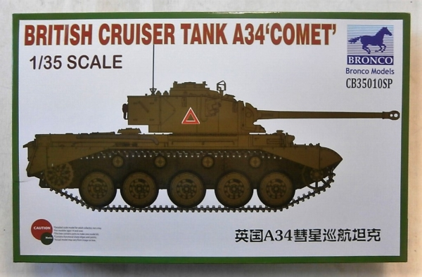 35010SP BRITISH CRUISER TANK A34 COMET