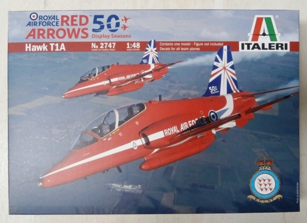 2747 RED ARROWS HAWK T1A 50 DISPLAY SEASONS