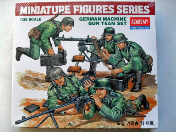 1379 GERMAN MACHINE GUN TEAM SET