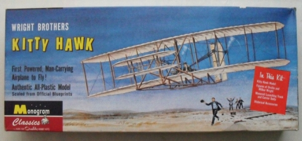 0030 WRIGHT BROTHERS KITTYHAWK