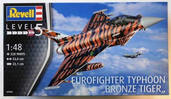 03949 EUROFIGHTER TYPHOON BRONZE TIGER