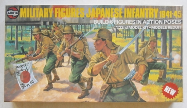 03584 JAPANESE INFANTRY 1941-45  6 FIGURES