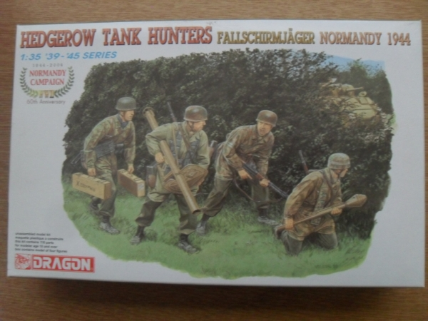 6242 HEDGEROW TANK HUNTERS FALLSCHIRMJAGER NORMANDY 1944