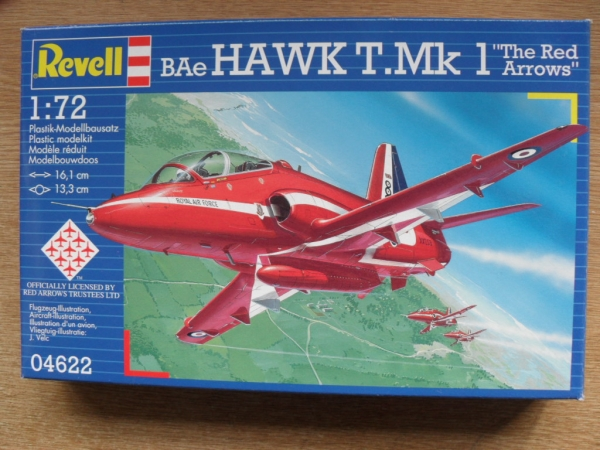 04622 BAe HAWK T.Mk.1 THE RED ARROWS