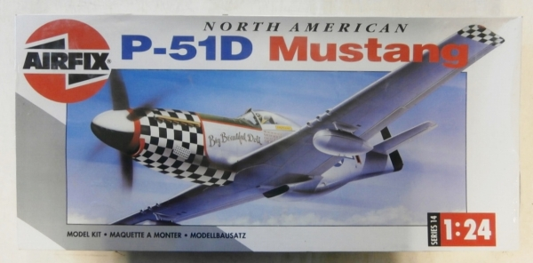 14001 P-51D MUSTANG  UK SALE ONLY