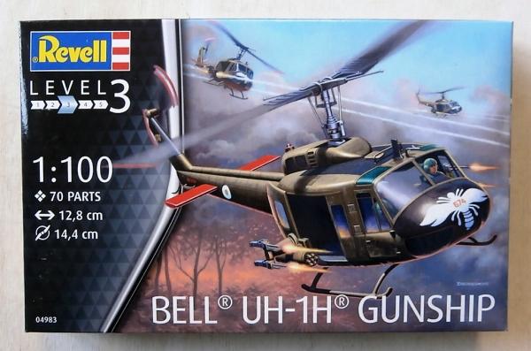 Revell Bell UH-1H Gunship 1:100-04983