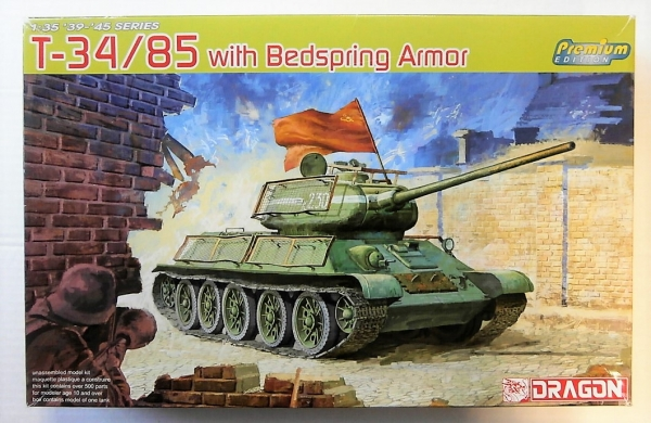 6266 T-34/85 WITH BEDSPRING ARMOUR