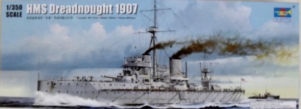 Trumpeter 1//350 05328 HMS Dreadnought 1907
