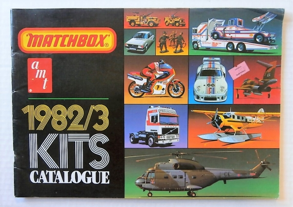 MATCHBOX 1982/3 KIT CATALOGUE