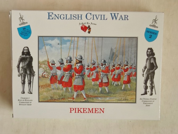 02 PIKEMEN ENGLISH CIVIL WAR