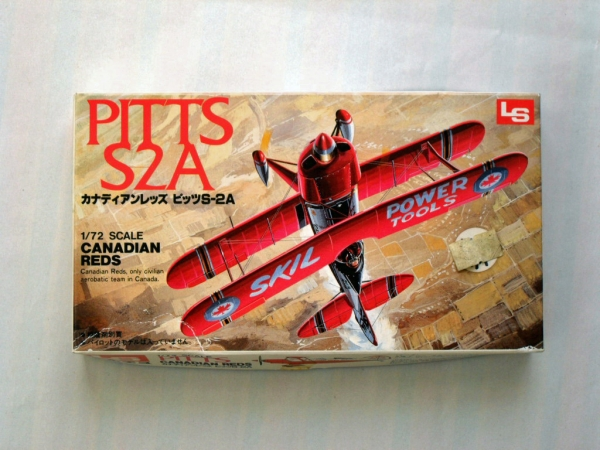 A192 PITTS S-2A CANADIAN REDS