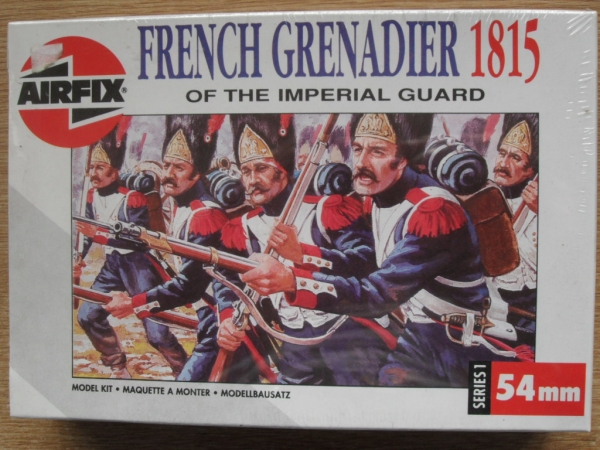 01553 FRENCH GRENADIER OF THE IMPERIAL GUARD 1815