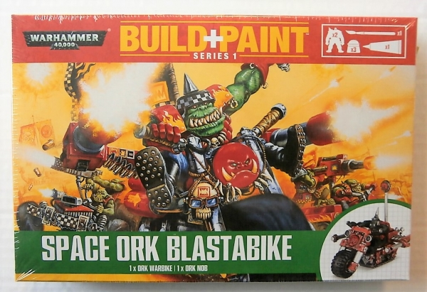 SPACE ORK BLAST BIKE BUILD   PAINT