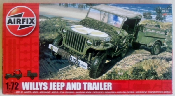 01322 WILLYS JEEP   TRAILER