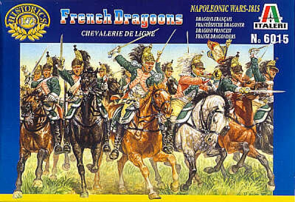 6015 NAPOLEONIC FRENCH DRAGOONS